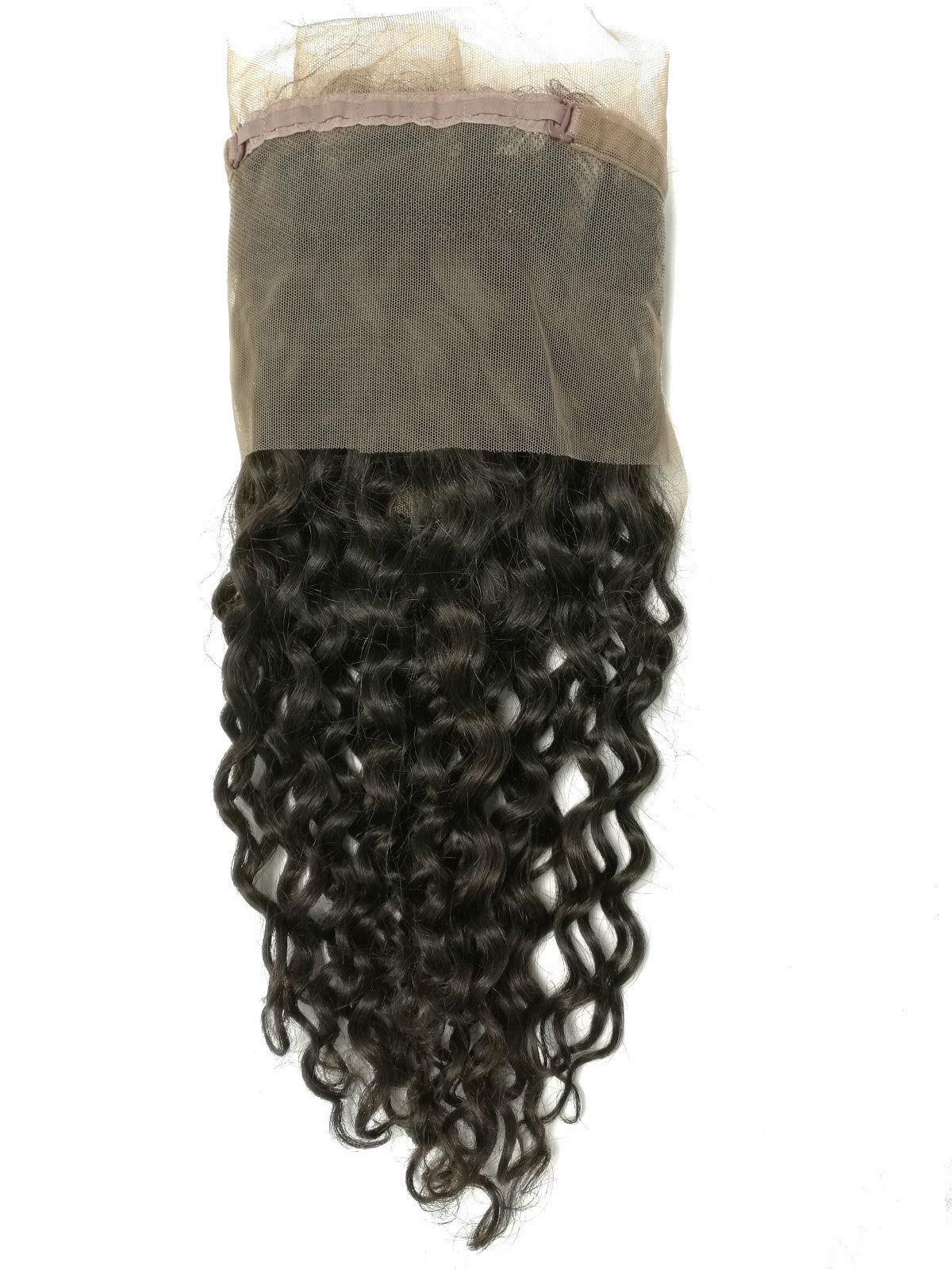 360°  Lace  Frontal  Closure -CURLY - Euryale Virgin Hair
