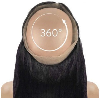 360°  Lace  Frontal  Closure -deep CURLY