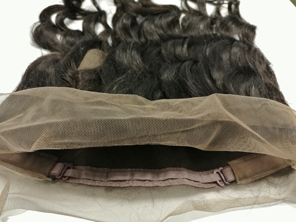 360° Lace Frontal Closure- LOOSE WAVE - Euryale Virgin Hair