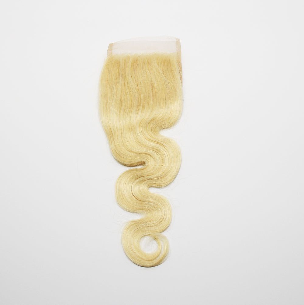 "4""x4"" Blonde Lace Closure"