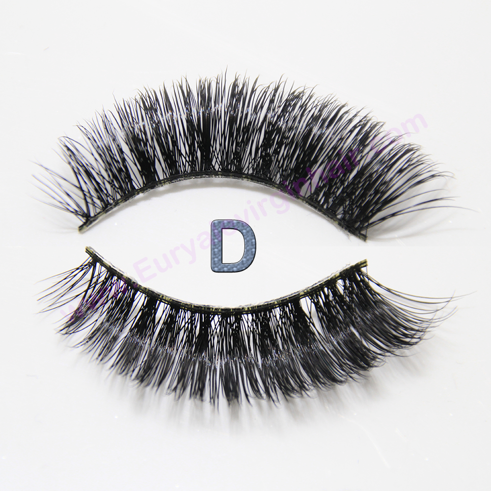 3D Mink Fur Fake Eyelash