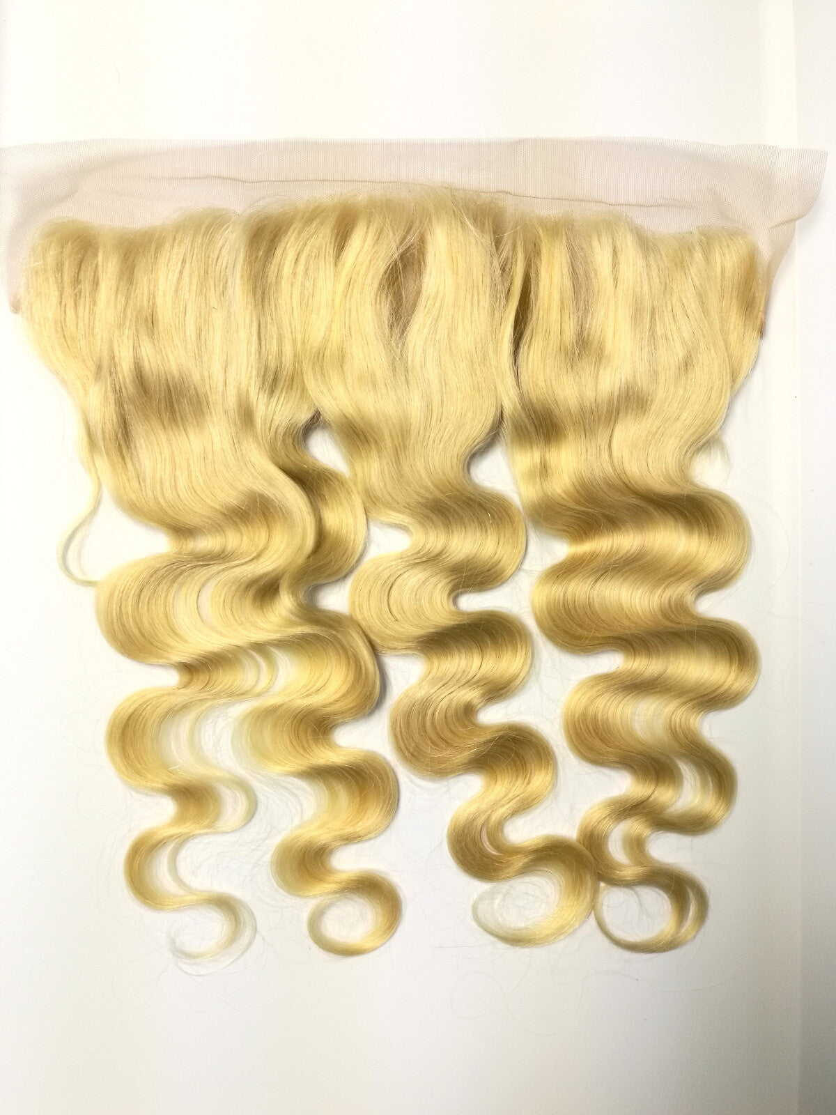 "13""x4"" Blonde Lace Frontal     -BODY WAVE - Euryale Virgin Hair"