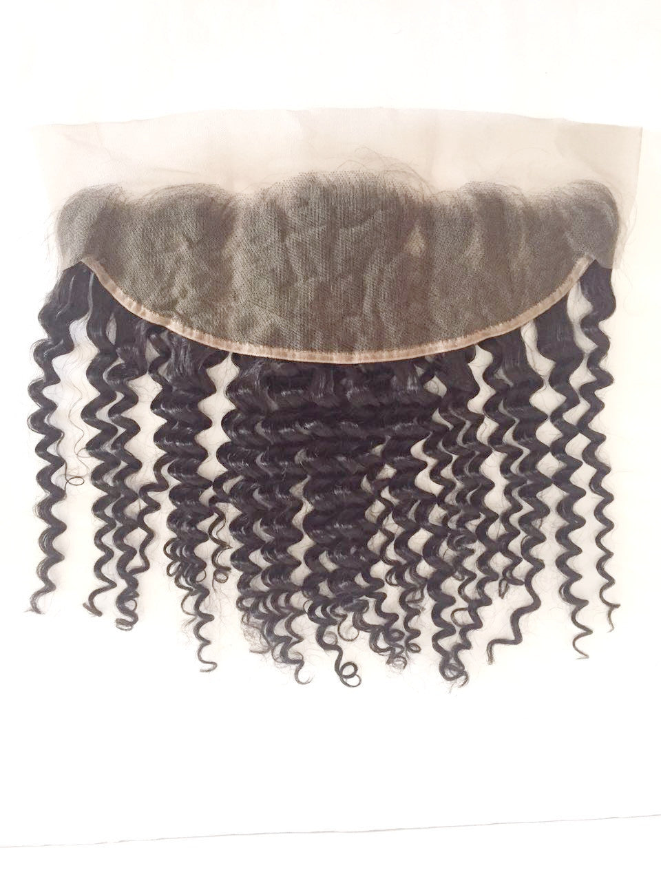 "13""x4"" Lace Frontal Closure - CURLY - Euryale Virgin Hair"