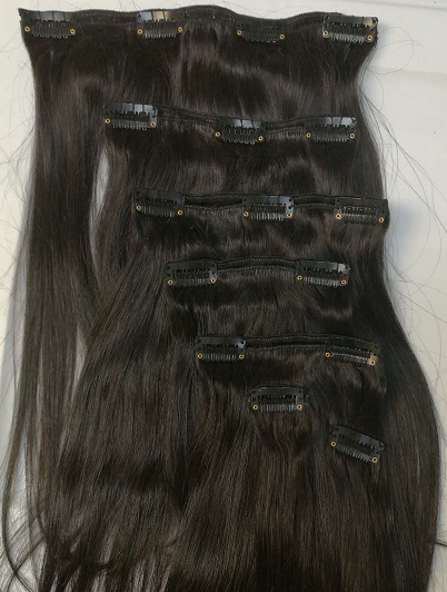 Clip in Hair Extension - Euryale Virgin Hair