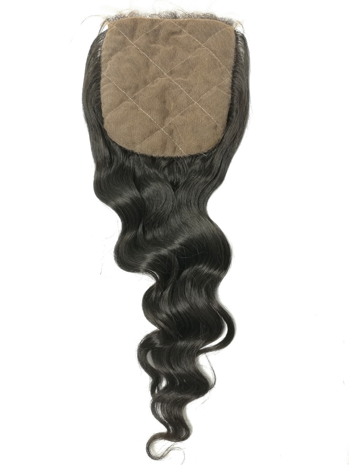 "4""x4"" Silk Lace Closure - LOOSE WAVE - Euryale Virgin Hair"