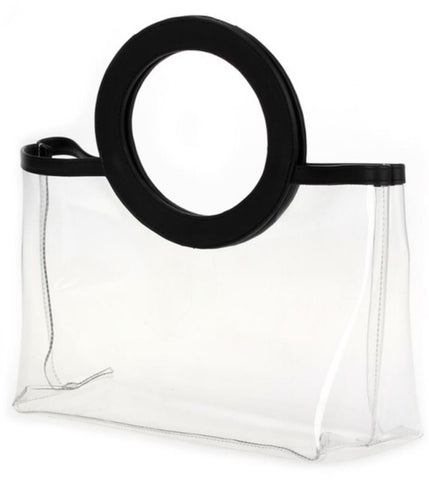Clear game day bags, custom monogram available