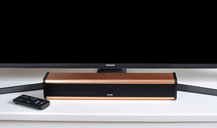 AccuVoice AV203 TV Speaker With Six Levels of Voice Boost, COPPER