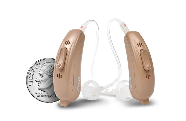 VoiceBud VB20 Hearing Aid With Two-Microphone NoiseBlocker Technology, App Control