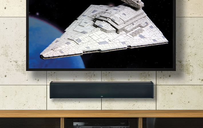 "SB380 35.5"" Sound Bar With AccuVoice, Built-In Subwoofer"
