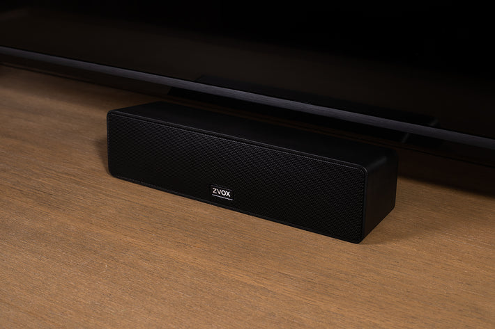 "AccuVoice AV100 ""Mini"" TV Speaker with Six Levels of VoiceBoost"