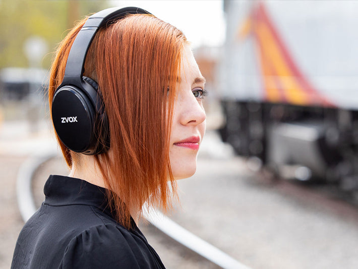 ZVOX AV50 Headphones , Certified Renewed