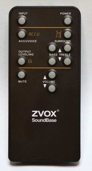 ZVOX SB700, SCRATCH AND DENT