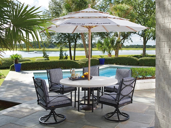 Tommy Bahama Outdoor Pavlova Round Dining Table