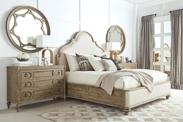 ART Furniture Architrave Upholstered Panel Bed Queen