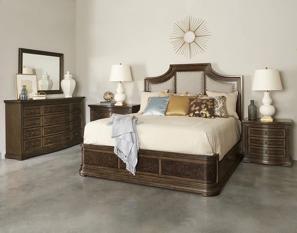 ART Furniture Kingsport UPH Panel Bed 67.51W 76.1D 70.1H