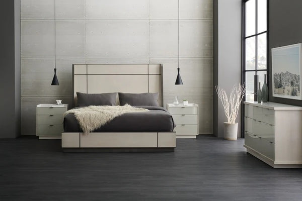 Caracole Modern Expressions Repetition Wood Bed Queen
