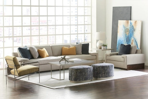 Caracole Upholstery Small Wonder Living Benches & Ottomans