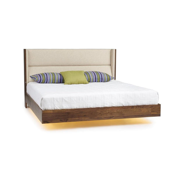Copeland Sloane Floating Bed (Mattress Only) With Lighting