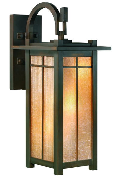 Fine Art Lamps Capistrano 3 Light Bronze Outdoor Wall Mount