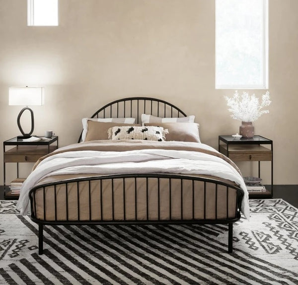 Four Hands Waverly Iron Bed King