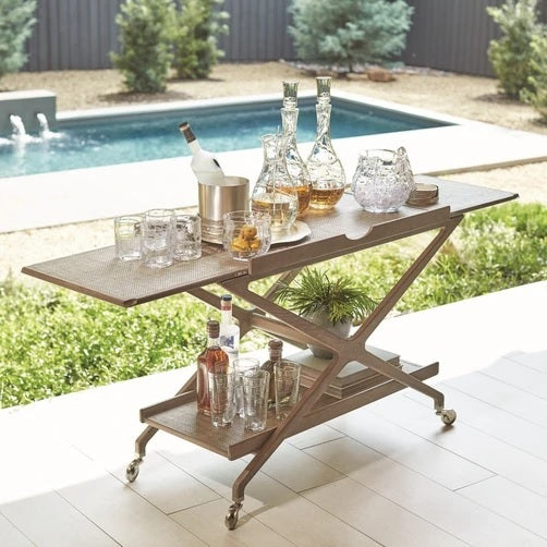 Global Views Campaign Bar Cart