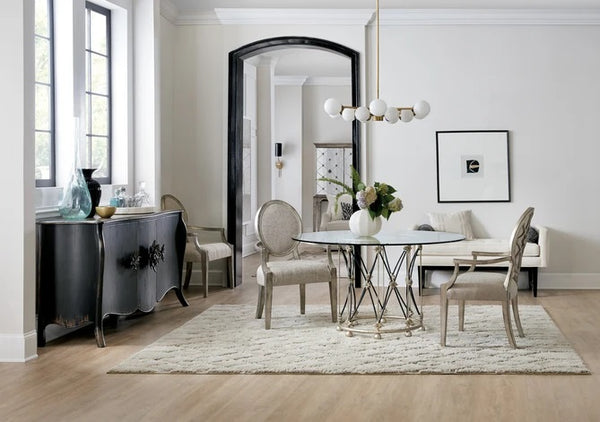 Hooker Furniture Dining Room Sanctuary Pirouette Dining Table Base
