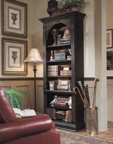 Hooker Furniture Home Office Black Bookcase