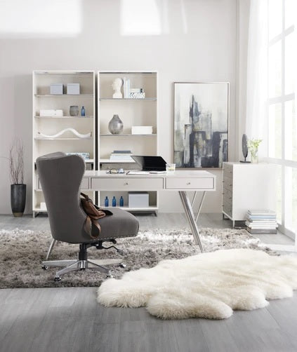 Hooker Furniture Home Office Sophisticated Contemporary Bookcase