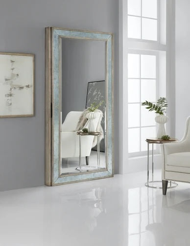 Hooker Furniture McAlister Floor Mirror with Jewelry Storage