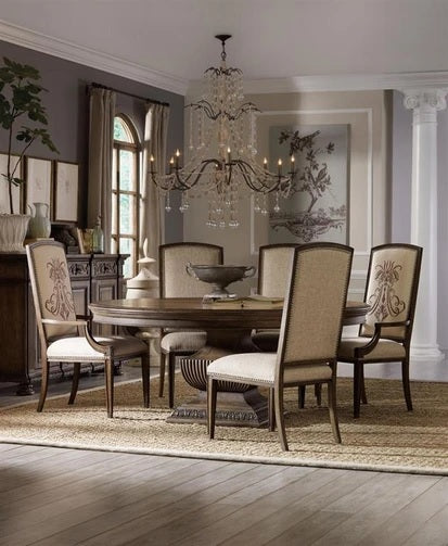Hooker Furniture Rhapsody Round Dining Table 60 In