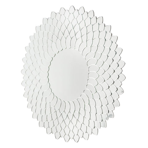 Michael Amini Montreal Round Wall Mirror 8525