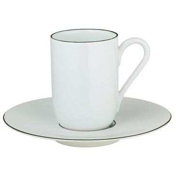 Raynaud Monceau Empire Green  Expresso Saucer