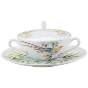 Raynaud Paradis White Cream Soup Saucer