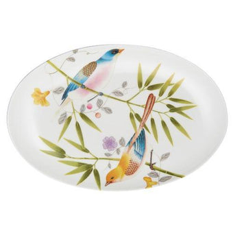 Raynaud Paradis White Pickle Dish