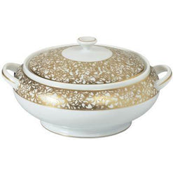 Raynaud Salamanque Or/Gold White Soup Tureen