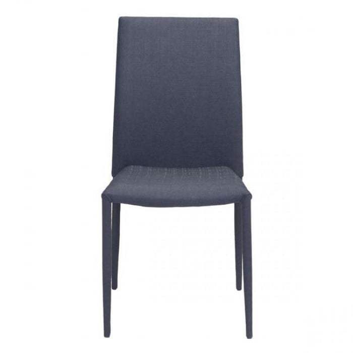Zuo Confidence Dining Chair Black (Set of 4)