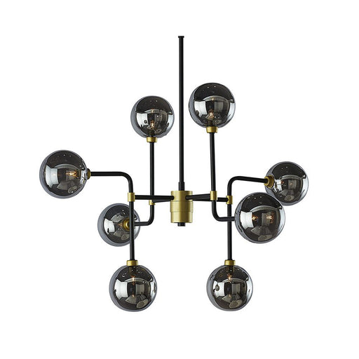Sunpan Deimos Chandelier - Small - Smoke Grey