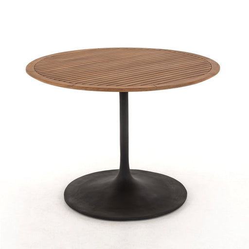 Four Hands Reina Outdoor Bistro Table-Natural Teak