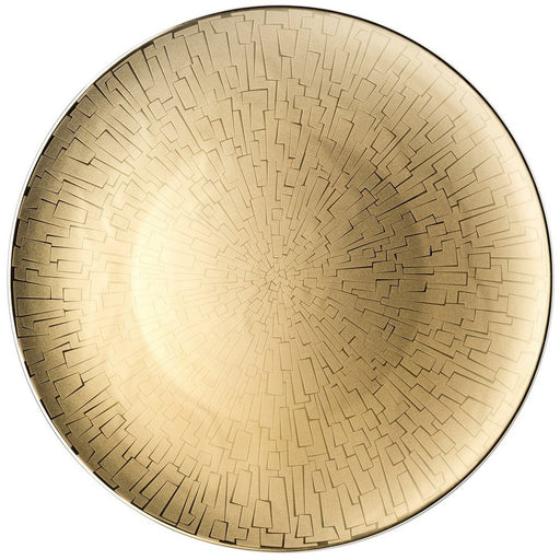 Rosenthal Service Plate 13 Inch Tac 02 Skin Gold