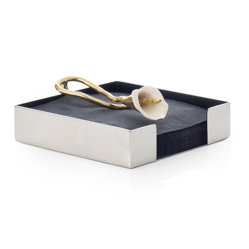 Michael Aram Calla Lily Cocktail Napkin Holder