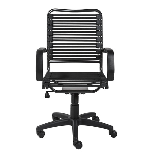 Euro Style Allison Bungie Flat High Back Office Chair