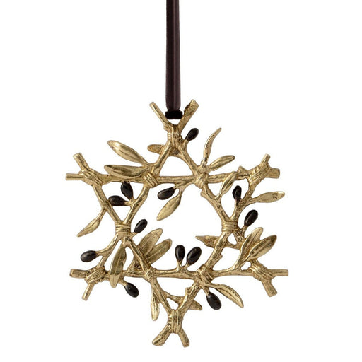 Michael Aram Olive Branch Star Ornament