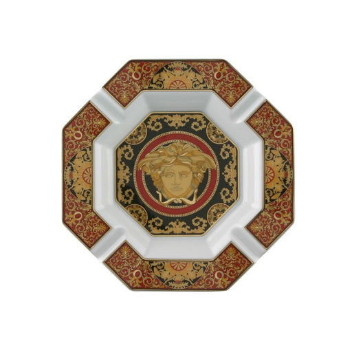 Versace Medusa Red - Ashtray, 9 inch