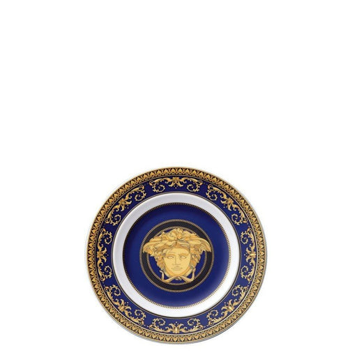 Versace Medusa Blue - Bread and Butter Plate 7""
