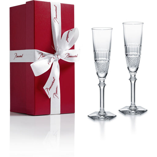 Baccarat Diamant Champagne Flute