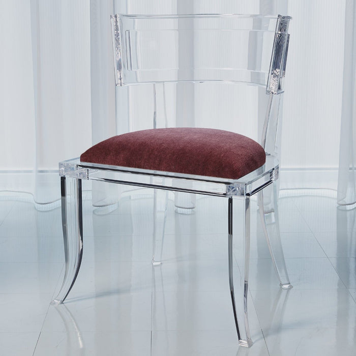 Global Views Klismos Acrylic Chair