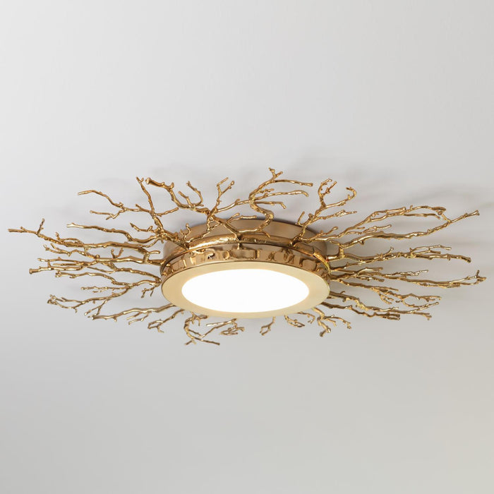 Global Views Twig Ceiling Fixture