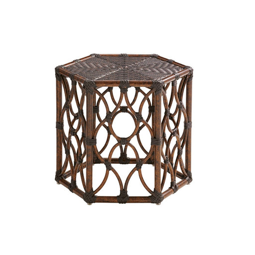 Tommy Bahama Outdoor Royal Kahala Black Sands Bunching Cocktail Table