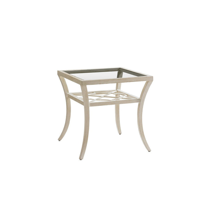 Tommy Bahama Outdoor Misty Garden Square End Table