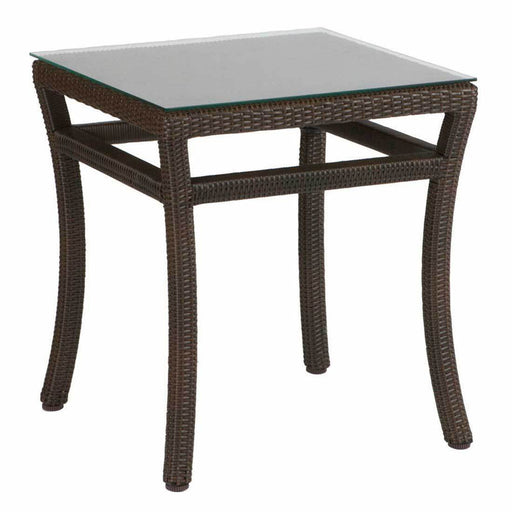Summer Classics Club Woven End Table